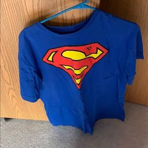 Superman logo shirt